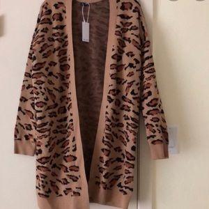 Splendid leopard cardigan.